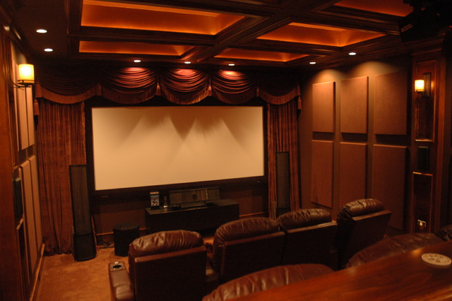 Soundsuede Acoustical Panels Traditional Home Theater Richmond By Acoustical Solutions