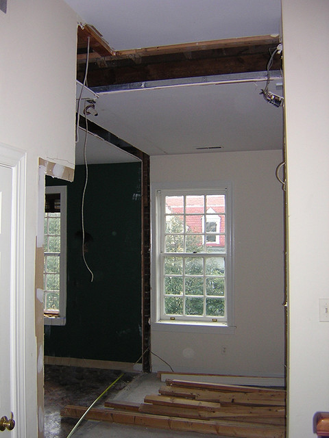 Spatial Study and Result - DC Townhouse home-theater