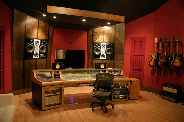 Remarkable Spyglass Studio Control Room Contemporary Home Theater Other Largest Home Design Picture Inspirations Pitcheantrous