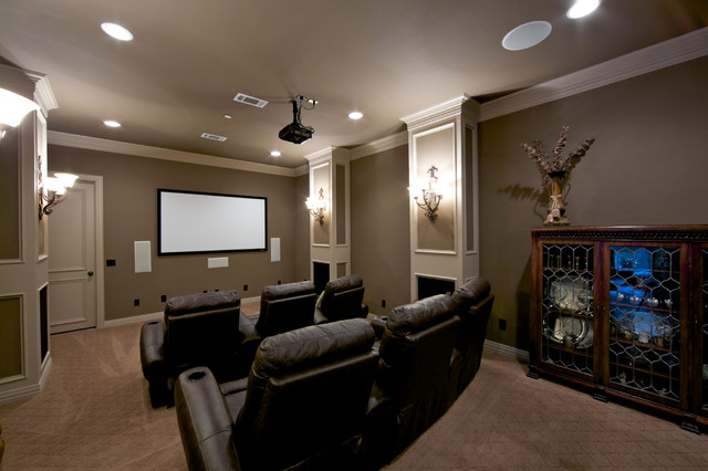 home theater design group dallas step down media room traditional home theater dallas. beautiful ideas. Home Design Ideas