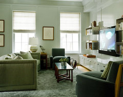 study contemporary media room