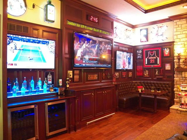 Stunning Bridgetown Sports Bar In The Family Room
