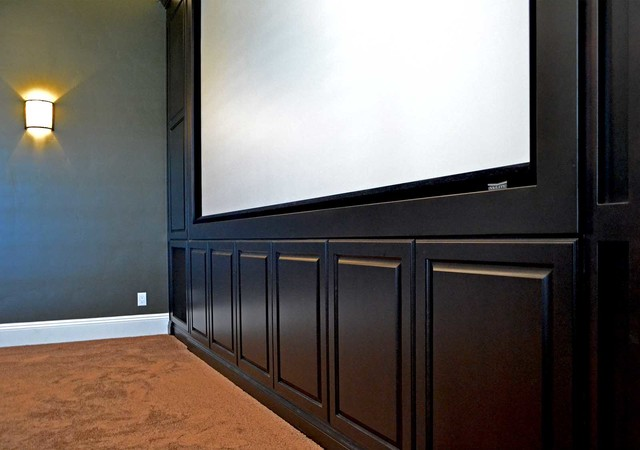 Temecula, CA traditional-home-theater