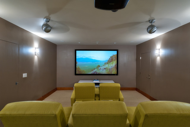 Turks Residence Theatre contemporary-home-theater