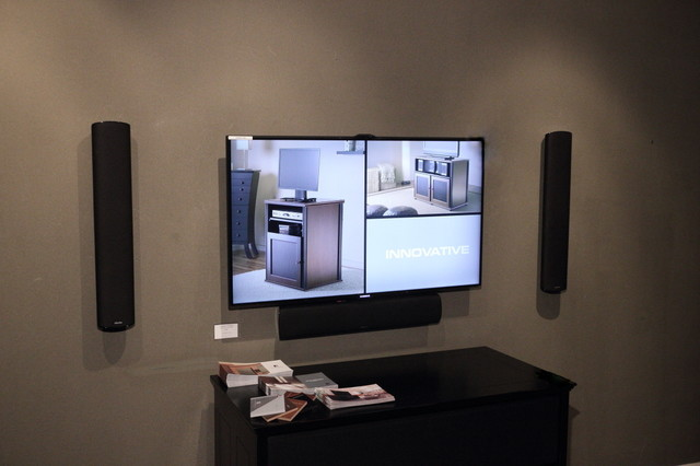 The Century Stereo Showroom contemporary-home-theater