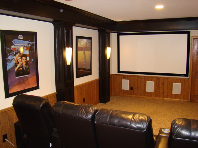 The Finished Basement LLC traditional-home-theater