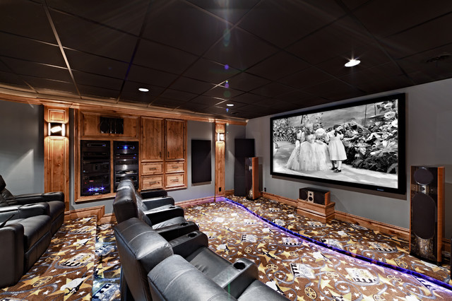 The Rodgers traditional-home-theater