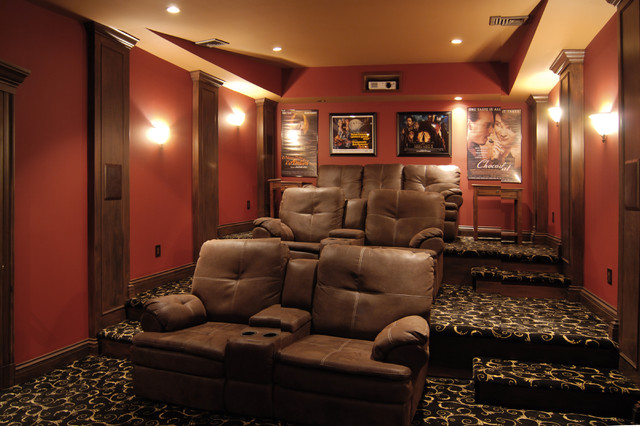 Theater Traditional Home Theater New York By Home