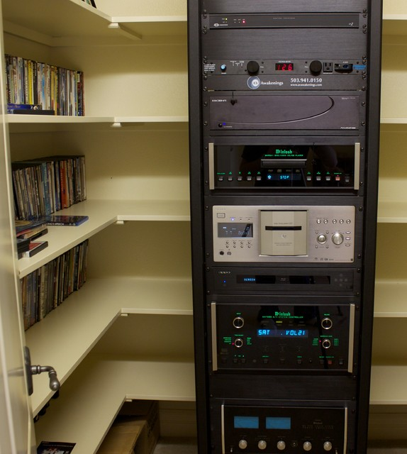 Cabinet For Home Theater Equipment