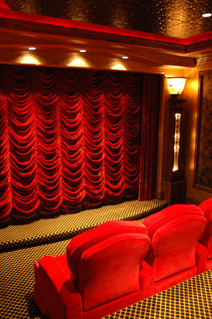 Theater mediterranean-home-theater