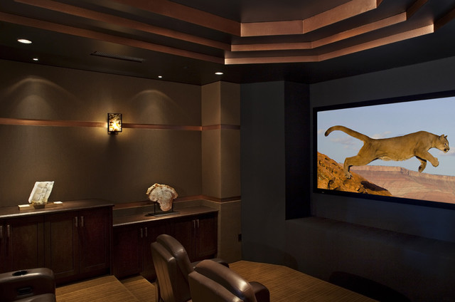 Theatre traditional media room