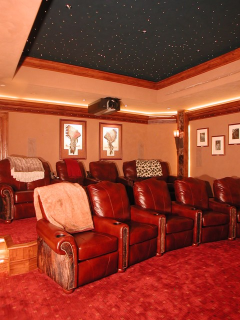 Thomas Residence - 15 AME traditional-home-theater