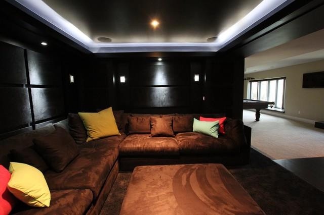 Tonys Black On Cinema Contemporary Home Theatre