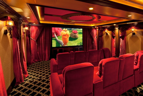 Looking For Black And Gold Carpet For A Home Theater Project