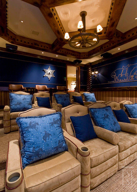 Traditional Residence 1 traditional-home-theater