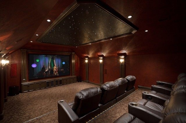 HMR Traditional traditional-home-theater