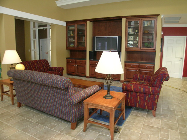 TV Area traditional-home-theater