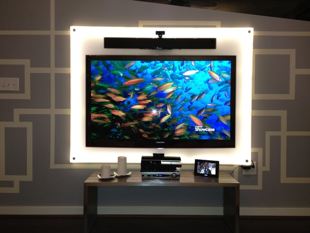 TV Backboards Modern Home Theater Other By