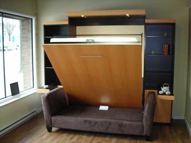 Example Of A Trendy Home Theater Design In Vancouver