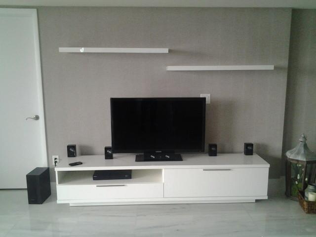 Tv Unit Modern Home Theatre