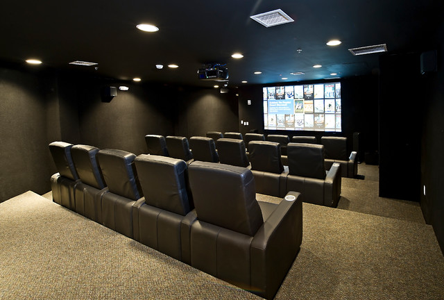 Ultimate Doomsday Bunker Theater Room For 15 People