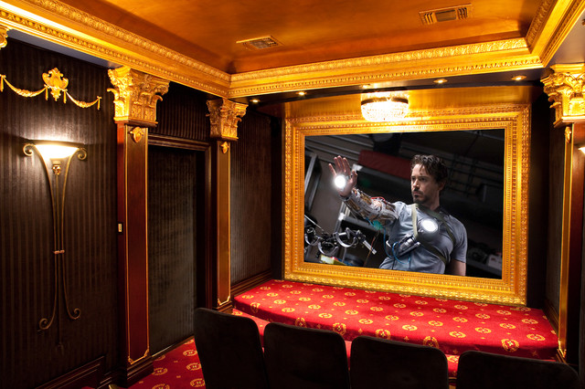 Ultimate Home theater Experience traditional-home-theater