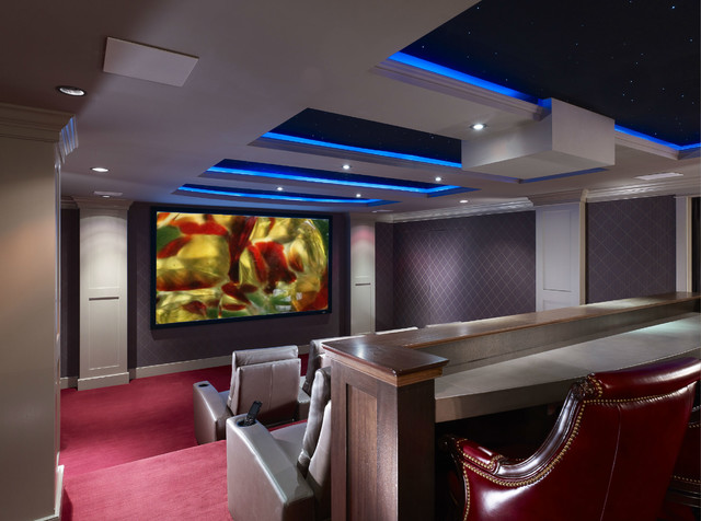 Ultimate Theater contemporary-home-theater