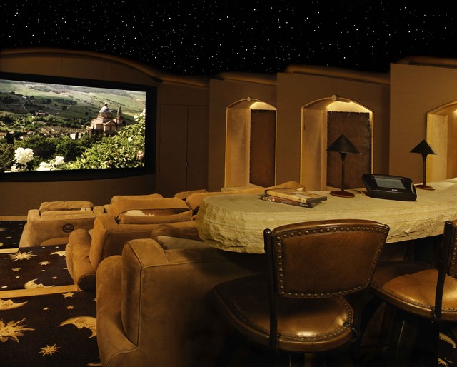 Various Projects modern-home-theater