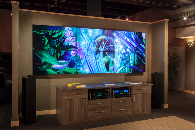 Video Wall Modern Home Theater