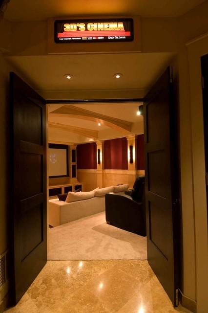 Virtuosity, 3-D Cinema home-theater