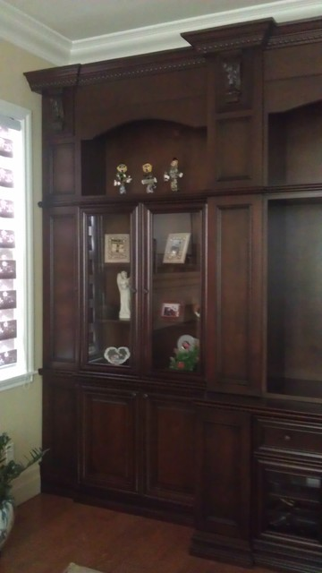Wall Unit traditional-home-theater
