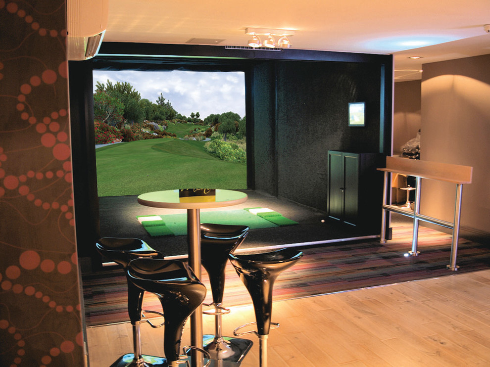 Wes Armstrong Traditional Home Theater San Diego