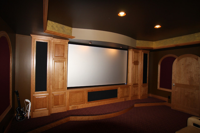 Whole House Remodel traditional-home-theater