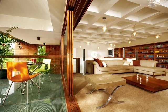 Windmills Of Your Mind, Bangalore Contemporary Home Theater