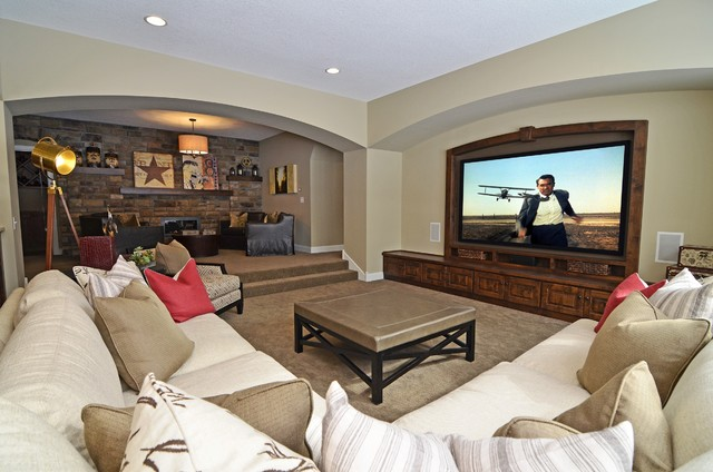Woolman Woods Model - Spring 2012 traditional-home-theater