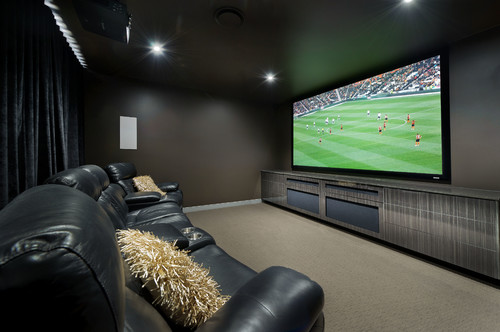 Theatre Room Feature Wall