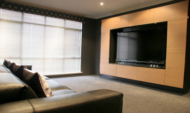 Bespoke Furniture Design Industrial Home Theater Perth By Despina Design