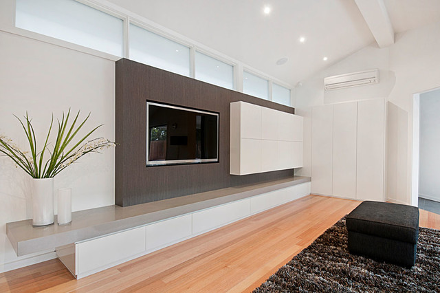 Wheelers Hill Modern Home Theater Melbourne By