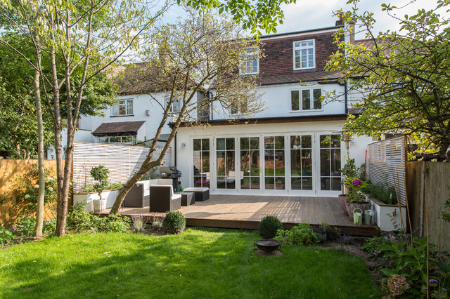 1930s London Home Contemporary Exterior London By