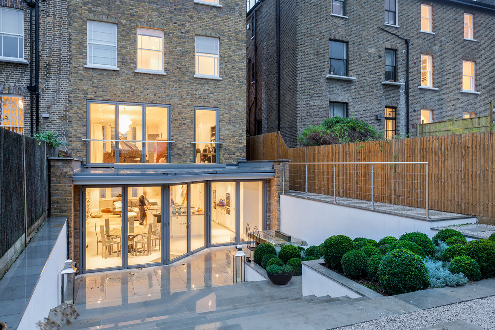 Inspiration for a contemporary house exterior in London.