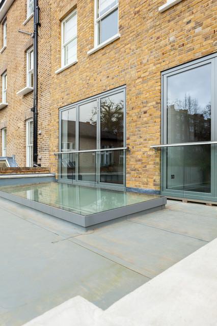 Advantage basements london contemporary exterior for Advantage basements
