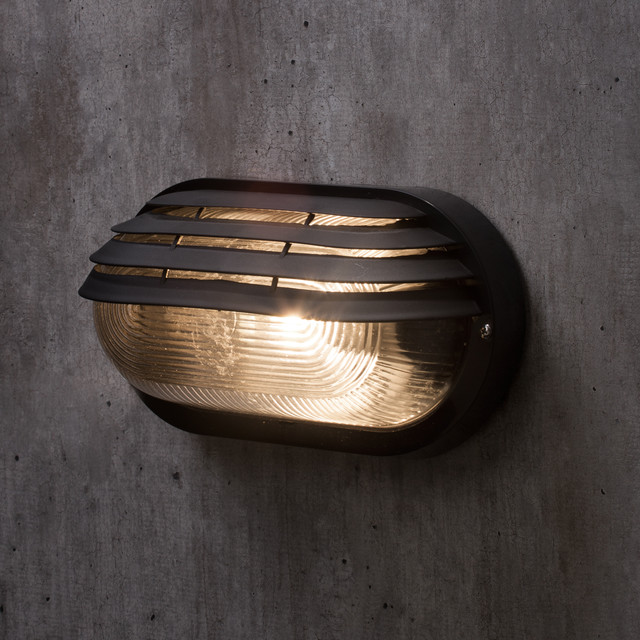 Anders oval outdoor bulkhead eyelid wall light black anders oval outdoor bulkhead eyelid wall light black costero fachada aloadofball Image collections
