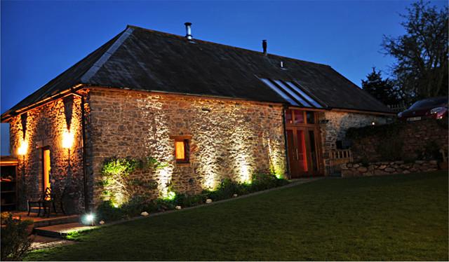 Barn Conversion Devon Contemporary Exterior