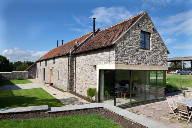 Barn conversion gloucestershire for Piani di casa cottage con porte cochere