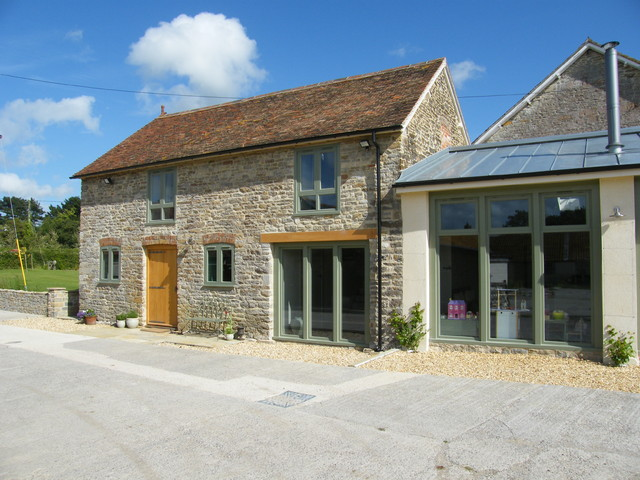 Barn Conversion, Manor Farm House, Glanvilles Wootton country-exterior