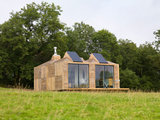 contemporary exterior Houzz Tour: Scottish Farm Cottage Looks to Sun and Stars (12 photos)