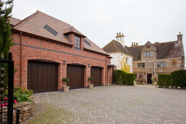 Charming Castle Farm Joinery Farmhouse Exterior