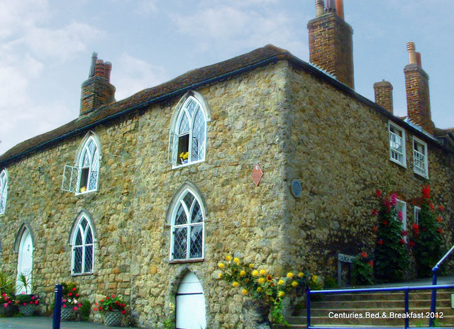 Centuries:  A 12th Century Bed & Breakfast in Kent, England traditional-exterior