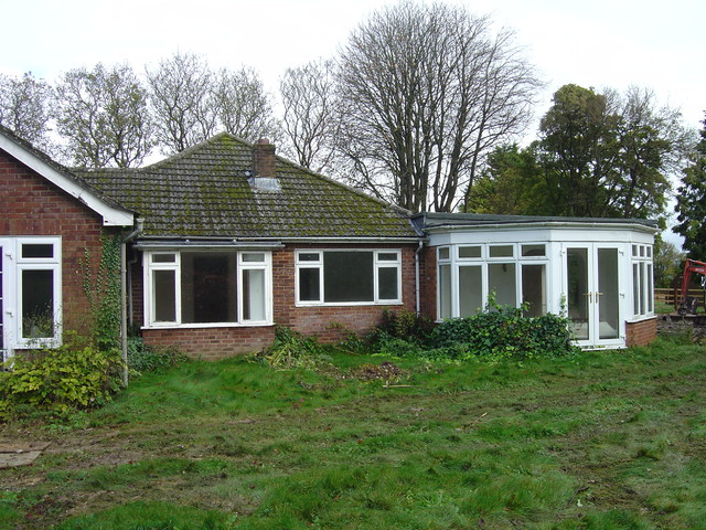 Chalet bungalow conversion modern exterior south for Chalet style bungalow images