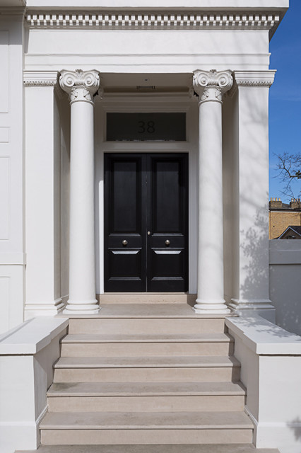 Clapham Common Grade Ii Listed Traditional Exterior